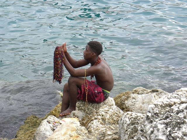 Free Photos: Shell vendor rocks vendor necklace seller | piper60