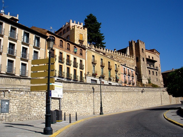 Free segovia spain building structure palace historical