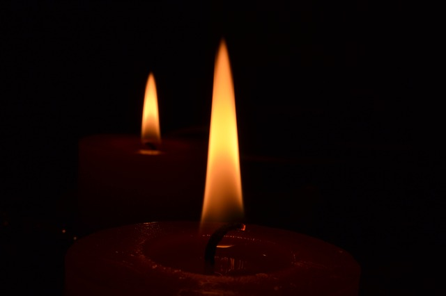 Free candle flame candles fire darkness dark light