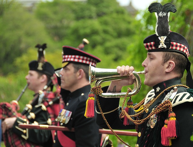 Free british royal scots dragoon edinburgh scotland band