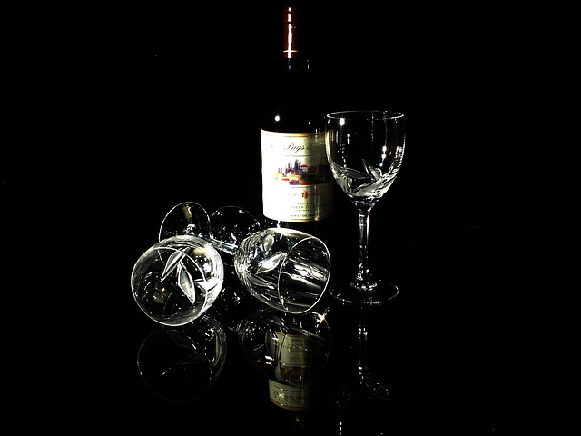 Free glass wine red wine still life crystal