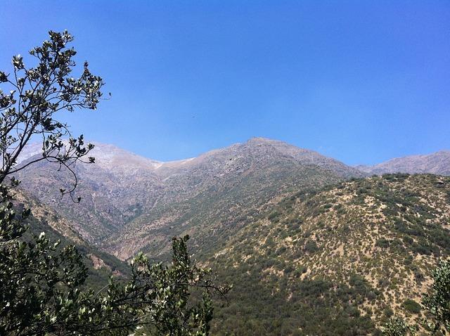 Free santiago chile trekking mountains nature landscape