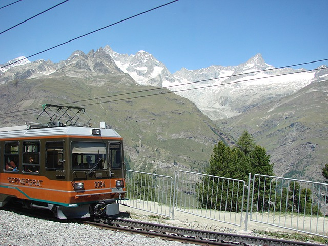 Free zermatt switzerland cog railway mountains alpine