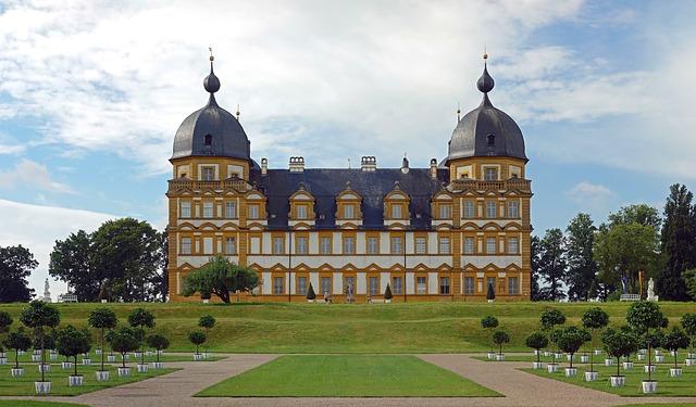 Free seehof bavaria germany palace structure sky