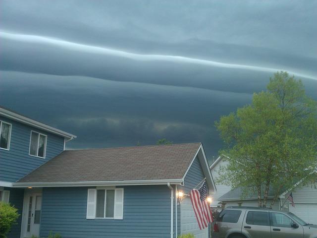 Free cloud phenomenon storm