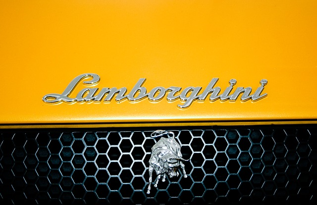 Free lamborghini auto car yellow sportscar automobile