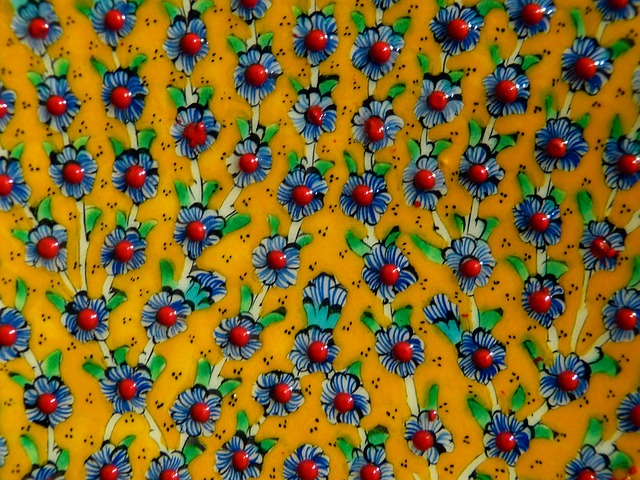 Free flowers floral ornament colorful paint colored