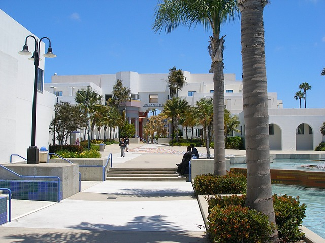 Free oceanside california civic center buildings