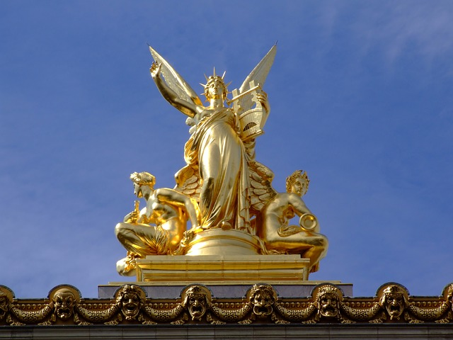 Free paris france sculpture statue monument harmony