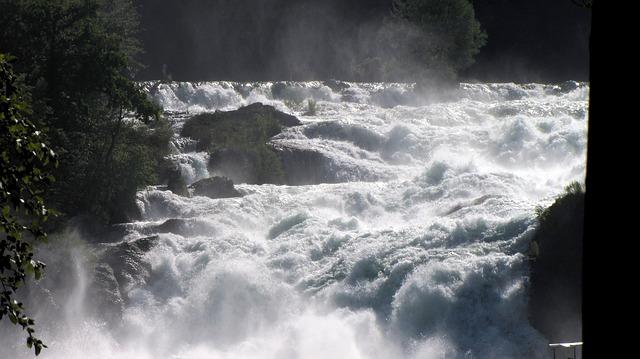 Free rhine falls schaffhausen waterfall