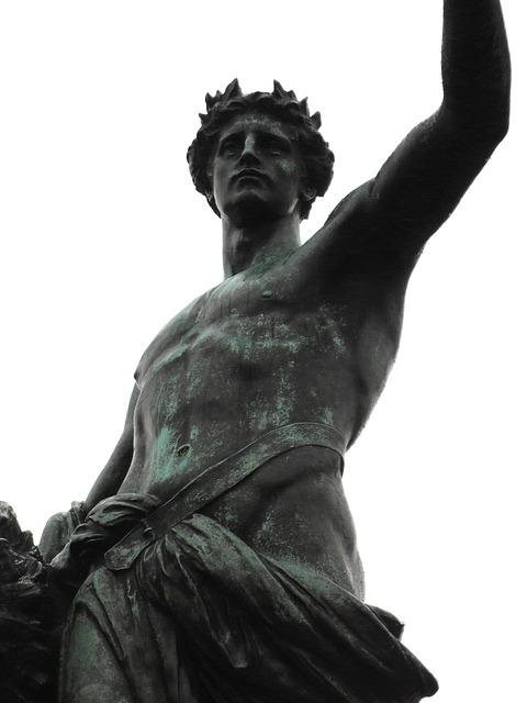 Free statue london bronze