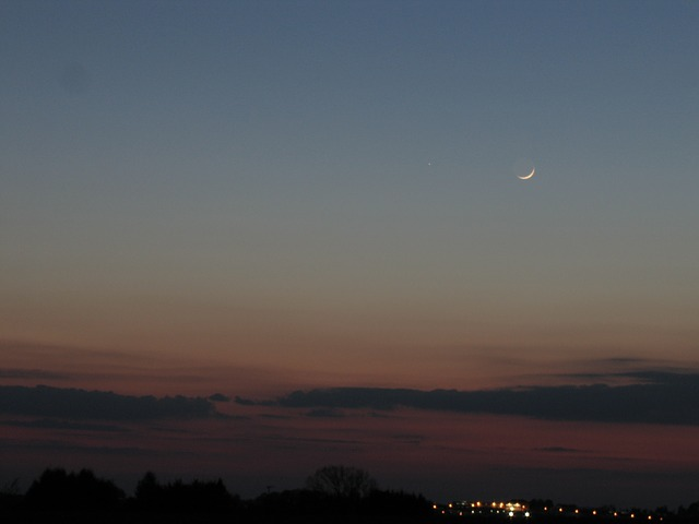 Free moon mercury abendstimmung planet astro evening