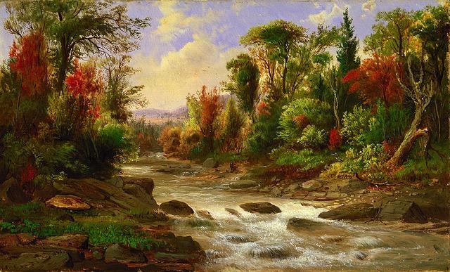 Free Photos: Robert duncanson landscape art artistic painting | David Mark