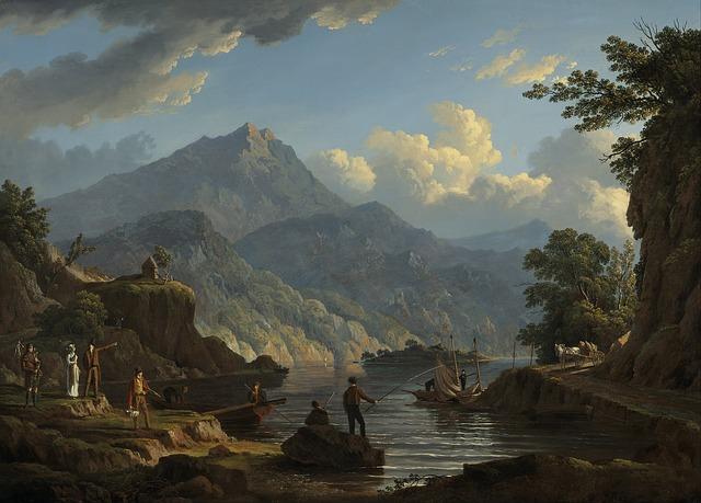 Free john knox landscape art artistic painting