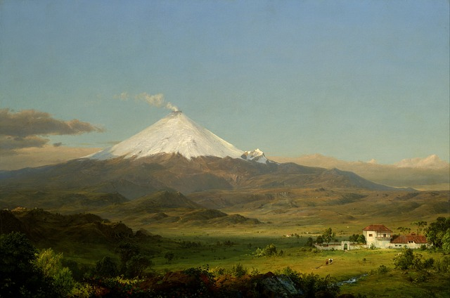 Free frederic church landscape art artistic painting