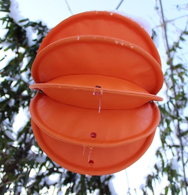 Free lampion weatherproof robust snow lighting garden