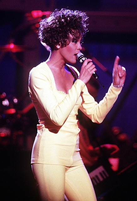 Free whitney houston singer entertainer singing