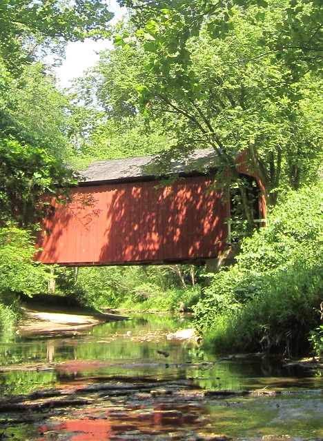 Free covered bridge historic structure bridge covered