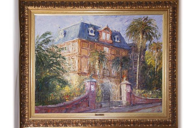 Free villa nobel sanremo alfred nobel art oil painting
