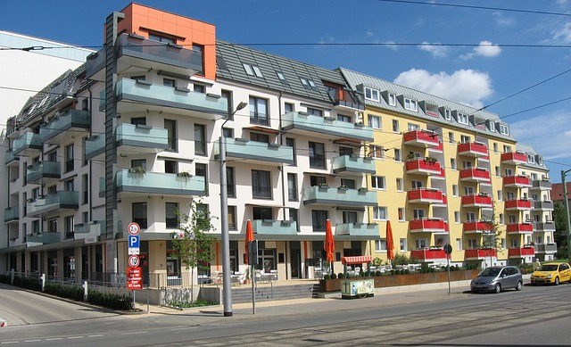 Free nordhausen germany buildings colorful apartments
