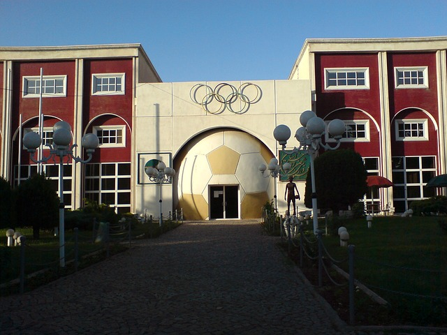Free iran nishapur building sport center complex