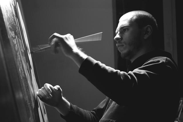 Free nikita shalenny painter ukranian black and white