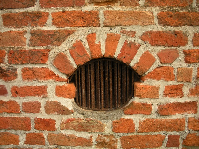 Free medieval castle detail slat window ventilation