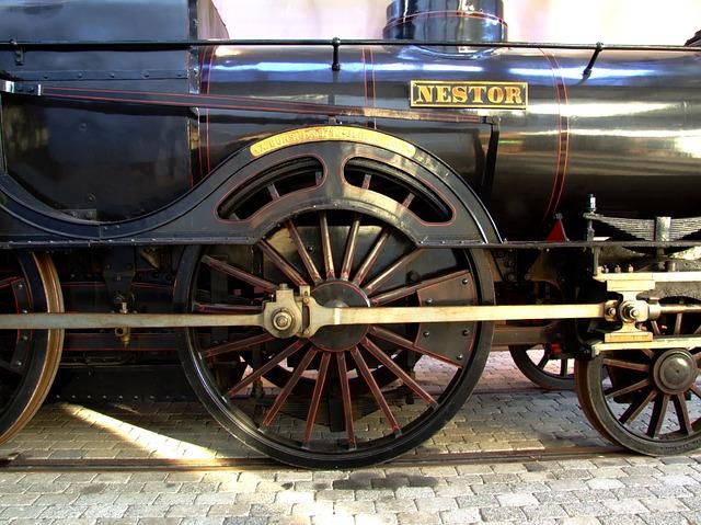 Free locomotive train old historical display museum