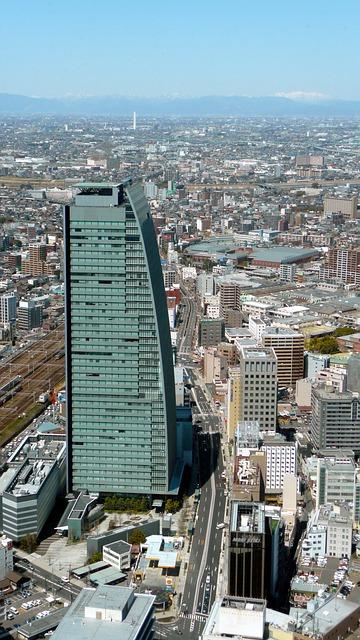 Free nagoya japan city urban buildings skyscraper