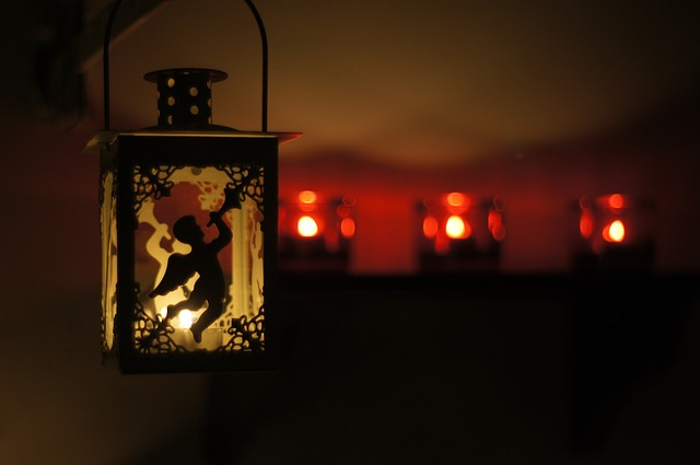 Free lantern angel lighting candles candle light