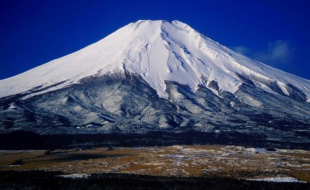 Free mount fuji japan landscape mountains nature