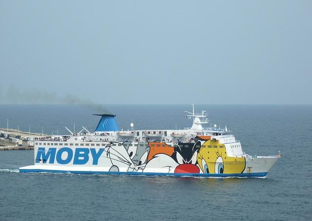 Free france ship ferry transport sky clouds ocean sea