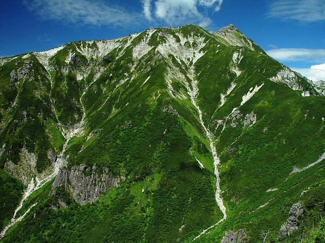 Free japan landscape mountains nature outside scenic