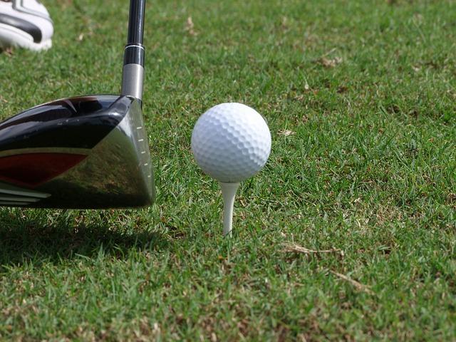 Free golf ball tee golf clubs green rush sport