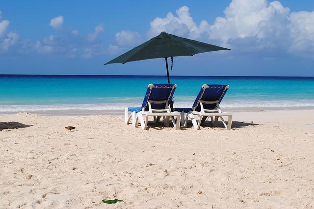 Free beach barbados rockley summer sun holidays