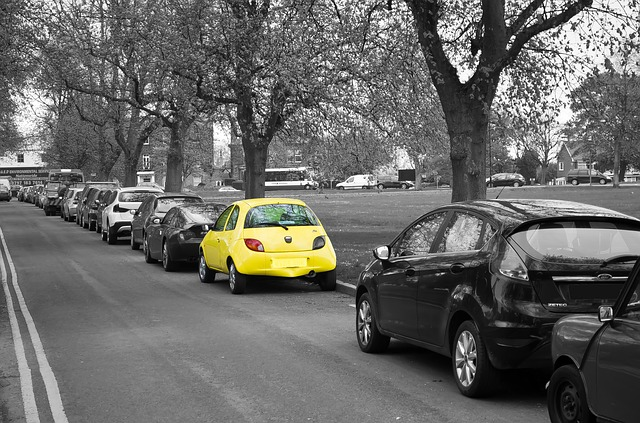 Free yellow car color property parking freedom ride