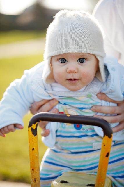 Free baby swing fun childhood playground child park