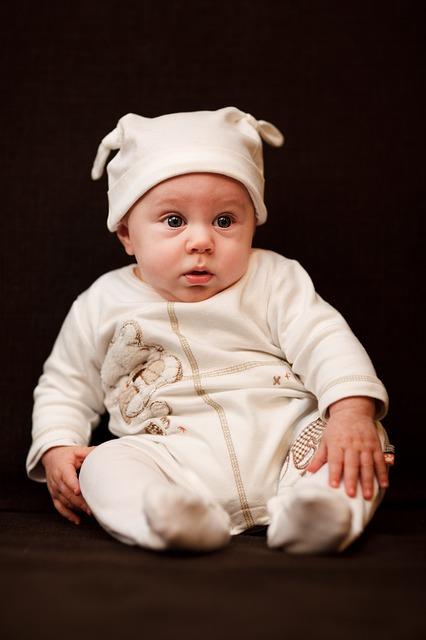 Free child portrait small baby caucasian kid little