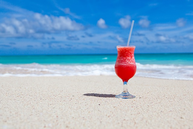 Free                beach beverage caribbean cocktail drink exotic