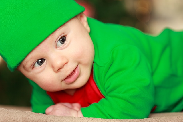 Free baby boy child christmas costume cute december