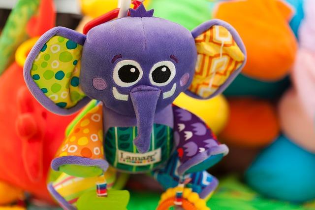 Free animal elephant bright character childhood