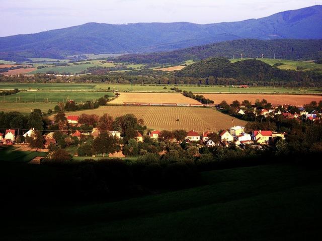 Free slovakia landscape scenic nature outside village