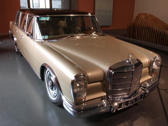 Free mercedes benz limousine 1967 car automobile classic