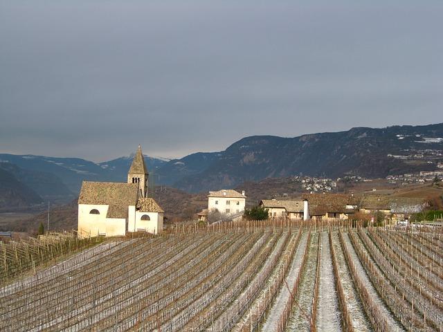 Free mazon south tyrol mountains field village church