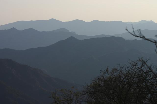 Free silhouette mountains shadow