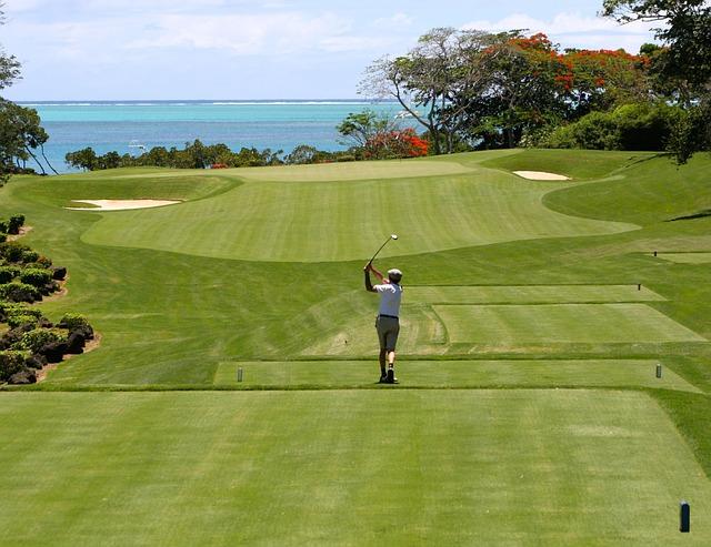 Free golf man tee golfers golf clubs sport ball sports