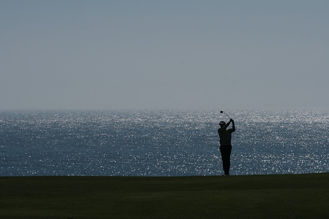 Free golf backlight sport golfers