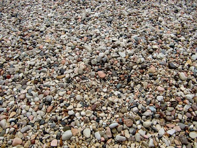 Free pebble stones background beach texture