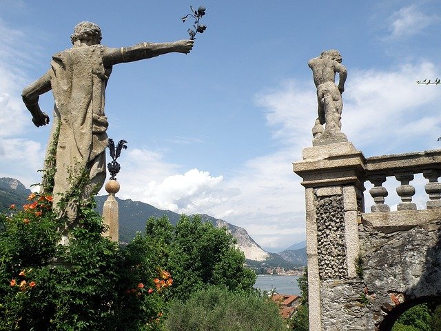 Free italy sculptures statues monuments sky clouds art