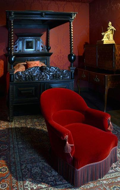 Free Photos: Paris france victor hugo home bedroom chair bed | David Mark